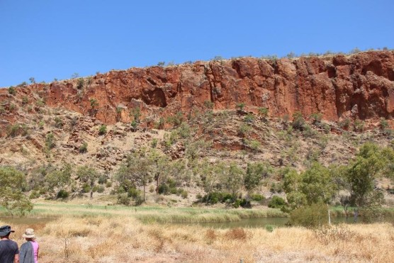 The mighty MacDonnell Ranges.