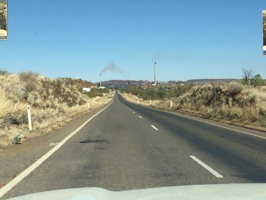 Mt Isa ahead